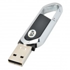 Blade Cutter Style USB 2.0 Flash Drive - Black + Silver (4GB)