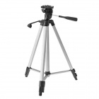 ismartdigi iR-340-SL Fold-Up 3-Section Camera Tripod - Silvery White + Black