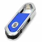 Blade Cutter Style USB 2.0 Flash Drive - Blue + Silver (16GB)