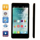 "MG9 MTK6582 Quad-Core Android 4.4.2 WCDMA Bar Phone w/ 4.5""IPS, 4GB ROM, GPS, WiFi - Black"