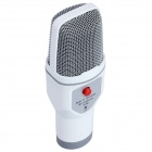 SF-690 Mobile Karaoke Microphone for Mobile Phone / PC - White