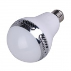 E27 5W SMD LED Globe Bulb RGB + White 350lm w/ Bluetooth Speaker / Infrared Remote Control (Presale)