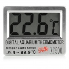"KT500 2.6 ""LCD-Haushalts-Thermometer - Silber (1 x L1154)"
