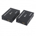 oTime OT-E100 TCP / IP HDMI Extender Receiver + Transmitter Set w/ IR - Black