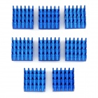 alumiini flash-muisti lämmöntuotto heatsinks - blue (8PCS)