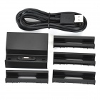 Magnetic Charging Dock + Micro USB Cable for Sony Z3 / Z3 Mini - Black
