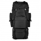 Outdoor Molle War Game Nylon Tactical Shoulders Bag Backpack - Black