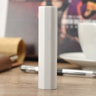 3.7V 4800mAh Power Bank w/ Flashlight - White
