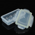 Water Resistant Translucent Storage Boxes for Battery (5 PCS)