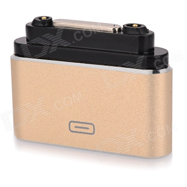 Micro USB F to Sony Magnetic Charging Interface Adapter - Champagne
