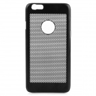 Hollow-out Ultra-thin Protective Metal Back Cover Case for IPHONE 6 - Black