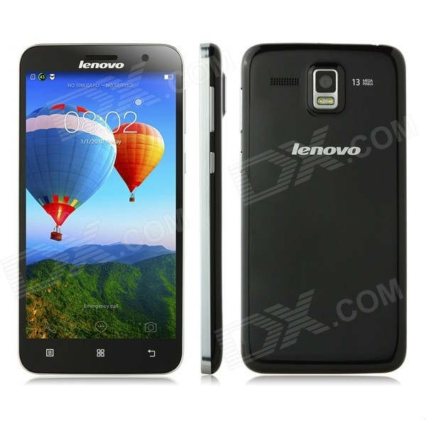 "Lenovo SuperFighter A808T Android 4.4 Octa-core 4G Phone w/ 5.0"", 2GB RAM, 16GB ROM, Wi-Fi - Black"