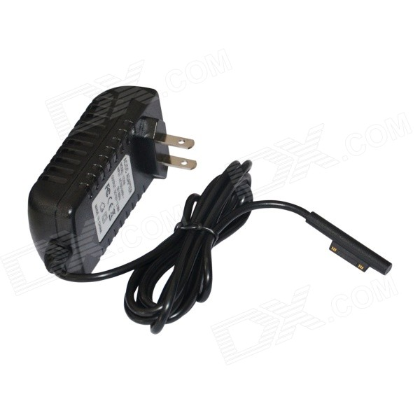 12V 2.58A US Plug Power Adapter for Microsoft Surface Pro 3 - Black