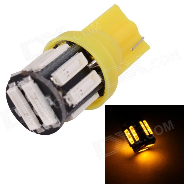 MZ T10 5W 597nm 400lm SMD 7020 Yellow Car Lamp (12V)