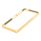 Aluminum Alloy Protective Bumper Frame for Sony Xperia Z3 - Golden