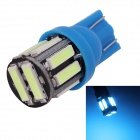 MZ T10 5W LED Car Steering / Signal / Clearance Lamp Ice Blue Light 495nm 400lm SMD 7020 (12V)