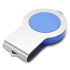 360 'giratorio USB 2.0 flash drive w / LED - azul + plata (32 GB, 1 * CR2016)