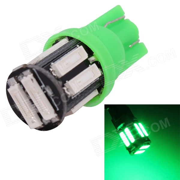 MZ T10 5W 577nm 400lm SMD 7020 Green Car Lamp (12V)