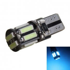 MZ T10 5W Ice Blue LED Decoding CANBUS Error-Free Car Clearance Lamp
