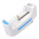 BTY M702 Multi-Functional 18650 / 10440 / 14500 / 17670 / 26650 Battery Charger - White (US Plug)