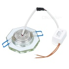 P8012-1 3W 3000K 300lm Warm White Lamp (100~240V)