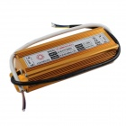 YF-80W External Waterproof 80W LED Power Supply Driver for Projection Lamp - Gold (AC 85~277V)