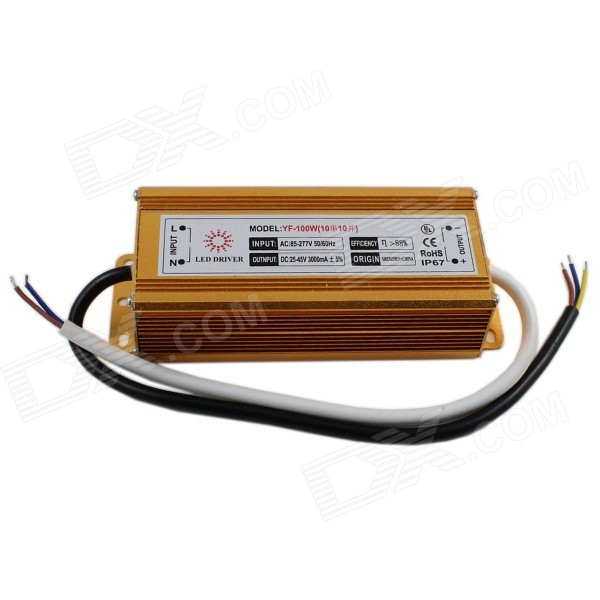 YF-100W External Waterproof 100W LED Power Supply for Projection Lamp