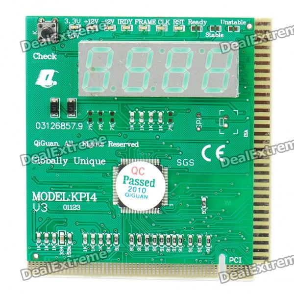 PC Motherboard Repair/Troubleshoot Diagnostic PCI+ISA Card (4-Digit Codes)
