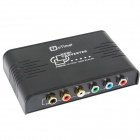 OTIME OT-384 HDMI to YPBPR Up Scaler Converter w/ Digital Coaxial - Black