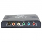 OTIME OT-384 HDMI to YPBPR Up Scaler Converter w/ Coaxial - Black