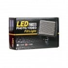 EOSCN C-160B portátil 5W LED 160 3200K / 5500K 600lm luz Video - negro