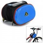 WOLFBIKE BCB-001-L Outdoor Cycling Bike Top Tube Double Bag - Blue