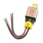 Universal DC 12V 40A Car Air-condition Relay - Brass + Black