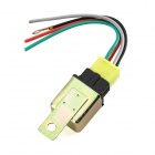 Universal DC 12V 40A Car Air-condition Relay - Brass + Musta