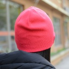 Bluetooth V3.0 Woven Acrylic Fiber Warm Music Hat - Pink