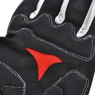 Yanho YAS366 Full-Finger Cycling Gloves - Black + Red (Pair / XL)