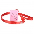 Cute GSM / GPRS Car Positioning Tracker - Pink (EU Plug)