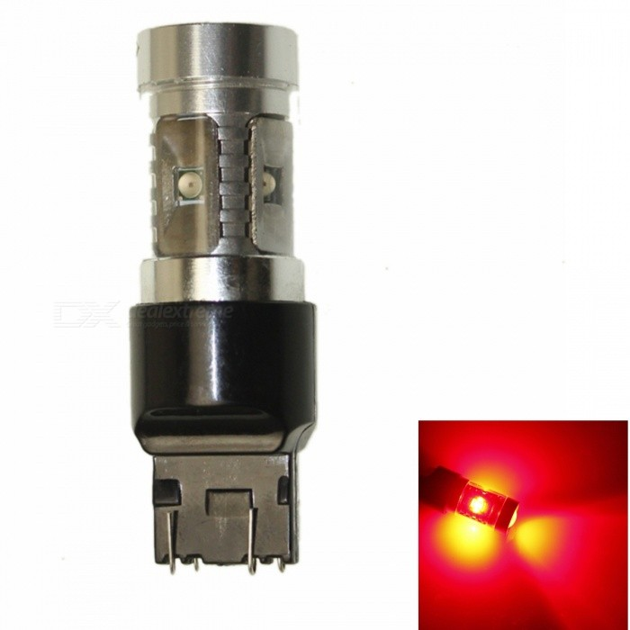 SENCART T20 7443 W21 21W W3X16Q 30W 5-LED 150lm 700nm rode auto lamp