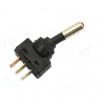 12V Car Modification Power Switch Red LED - Black + Red