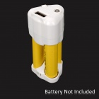 USB 3 x AA Battery Charger - White