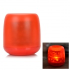 Flameless Blow on / off Sound Sensor Red Light LED Candle Holiday Lamp - Red (3 x AG13)