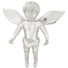 Fashionable Angel Style 316L Stainless Steel Pendant for Necklace - Silver