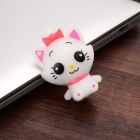 Cute Cartoon Smile Girl Style USB 2.0 Flash Drive - Branco (32GB)