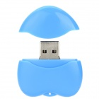 USB-20 Heart Shaped USB 2.0 Flash Drive - синий (32 ГБ)