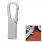 Chaveiro estilo USB 2.0 Flash Drive - Prata (16 GB)
