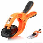 JAKEMY JM-OP10 Suction Cup LCD Screen Opening Clamp Pliers Tool for IPHONE / IPAD - Orange + Black