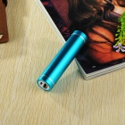 DIY 1*18650 Li-ion Battery USB Charger Power Bank Case w/ LED - Blue