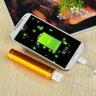 DIY 1*18650 Li-ion Battery USB Charger Power Bank Case w/ LED - Golden