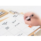JAKEMY JM-Z09 Magnetic Work Mat Pad w/ Erasable Marking Pen & Brush for Repair Work - White