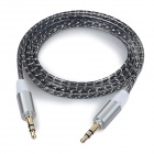MM-35 3.5mm Male to Male Audio Cable - Black (100cm)
